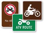ATV Signs