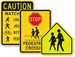 Child Crossing Signs