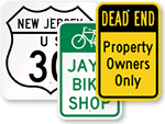 Custom Traffic Sign Templates