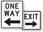 Directional Traffic Signs