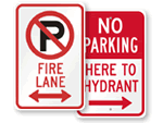 Fire Lane Signs