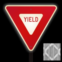 High-Intensity Yield Signs