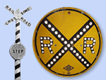 History of the Crossbuck Railroad Crossing Sign