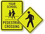 Pedestrian Signs