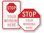 School Stop Signs