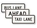 Supplemental Lane Signs