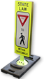 Our Popular Pedestrian Sign