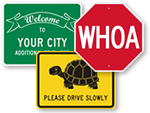 Novelty Traffic Signs