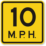 10 mph 1930 NCSH Urban Manual