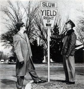 Original Yield Sign