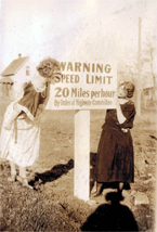 Speed Limit Sign from the 1930's
