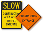 Construction Ahead Signs
