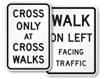 Cross Only Signs