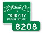 Custom City Signs