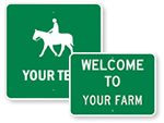 Custom Farm Signs