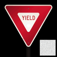 Engineer Grade Yield Signs