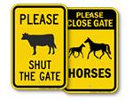 Farm Gate Signs