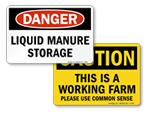 Farm Safety Signs