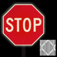 High Intensity Reflective STOP Signs