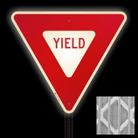 High Intensity Yield Signs