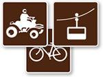 Land Recreation Signs (RL Series)