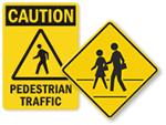 Pedestrian Signs