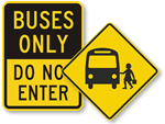 School Bus Signs