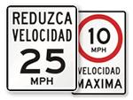 Spanish Road Signs