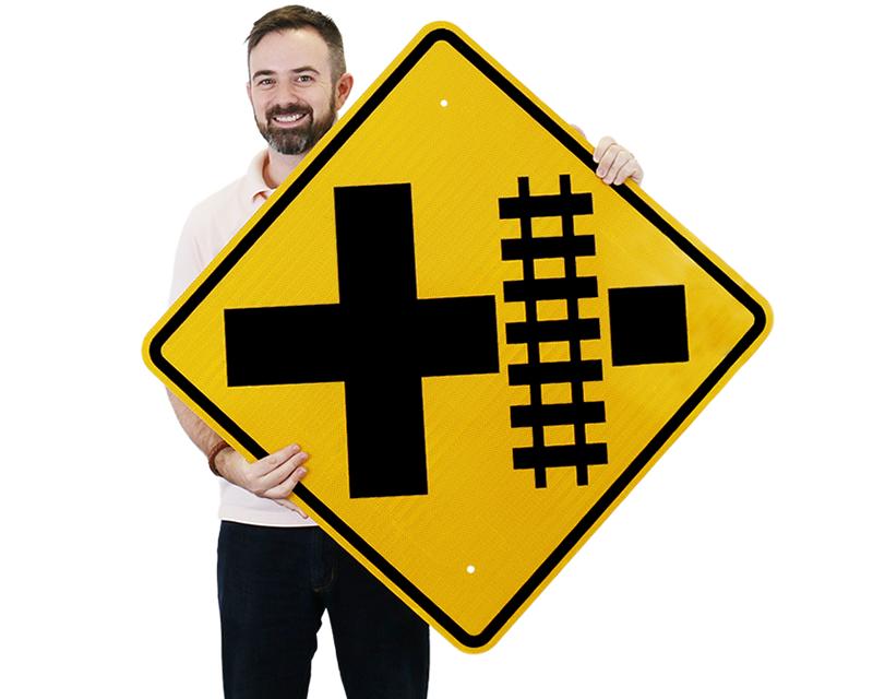 railroad crossing signs railroad signs