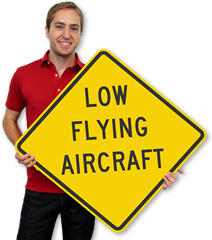Aircraft Warning Signs