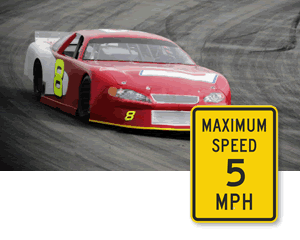 Maximum Speed Limit Signs