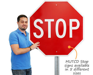 Regulatory Stop Sign