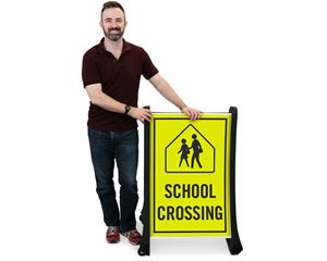 School Crossing BigBoss Signs