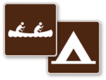 Park and Recreational Guide Signs