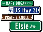 Custom Street Sign Quote