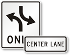 Lane-Use Control Signs