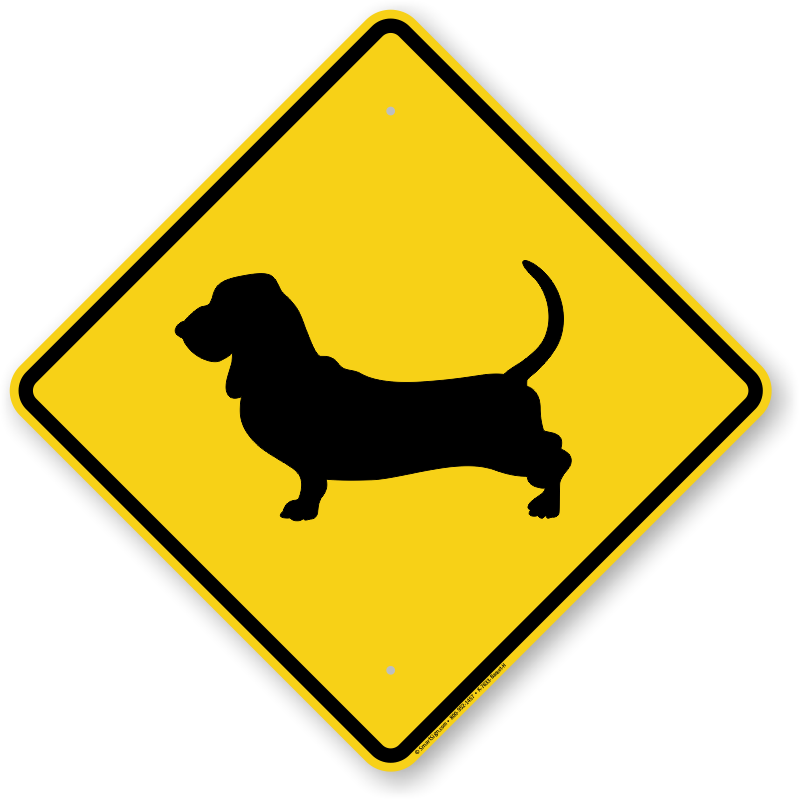 Dog Breed Crossing Signs Dog Crossing Signs By Breed
