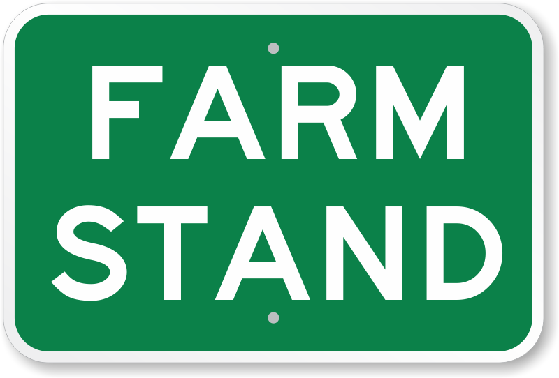 Farm stand sign ranch sign free shipping options sku k 0050
