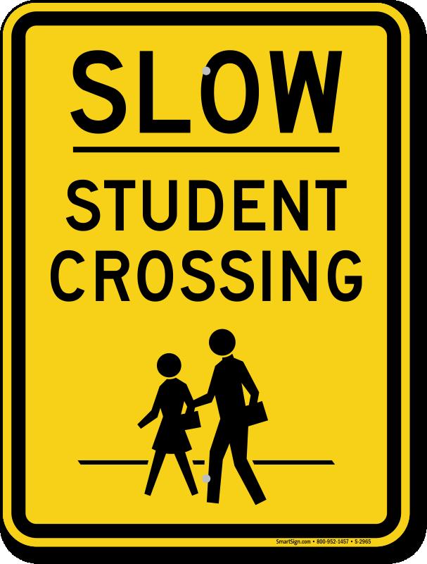 School Crossing | Student Crossing Signs