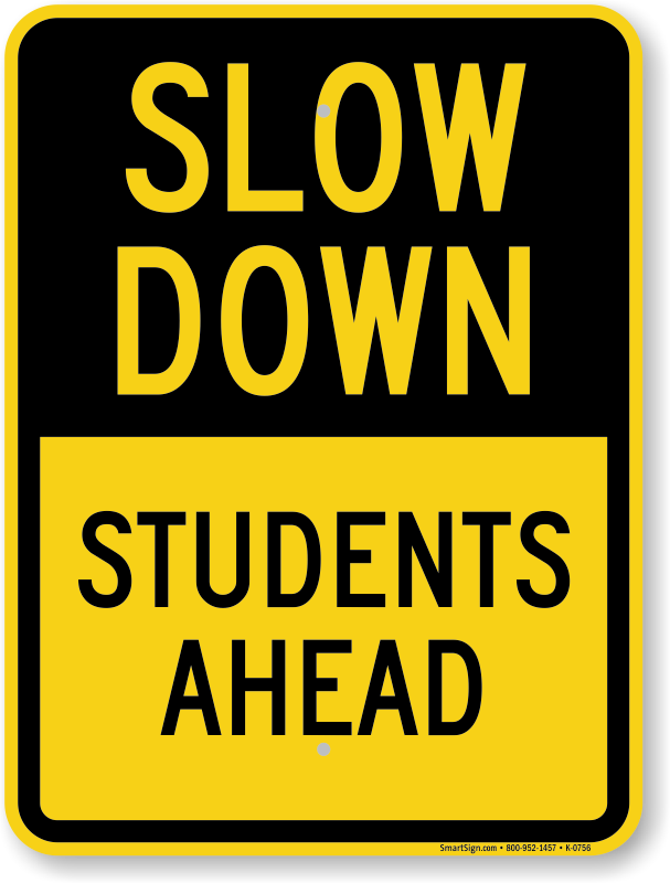 School Traffic - School Zone Signs