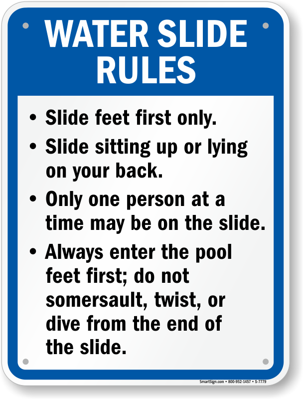New Mexico Swimming Pool Signs