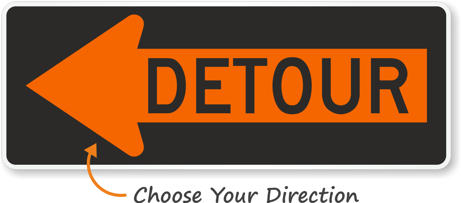 Image result for detour