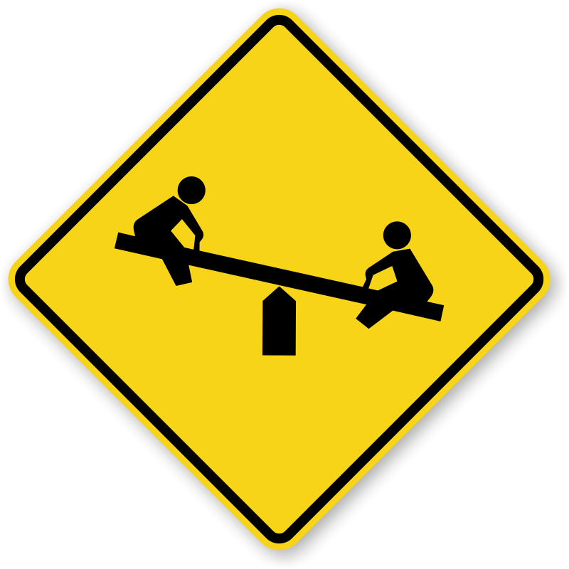 Playground - Guide Sign - W15-1, SKU: X-W15-1