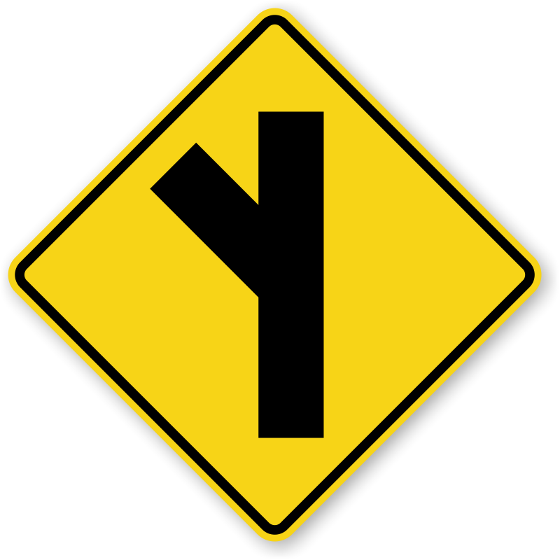 price buy road i...Y Intersection Sign