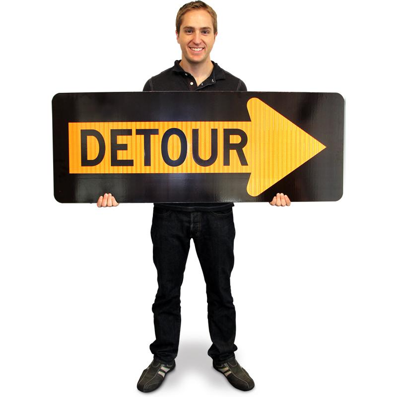 Detour Inside Right Ar...