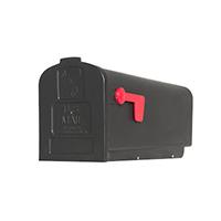 Flexible Mailbox Post Natural Ground