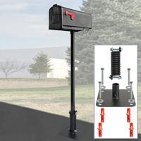 Flexible Mailbox Post