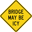 Bridge May Be Icy Warning Sign