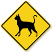 Cat Symbol Guard Cat Sign