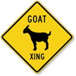 Goat Xing Symbol Sign